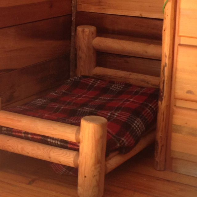 Log Cabin Bed My Style Pinterest