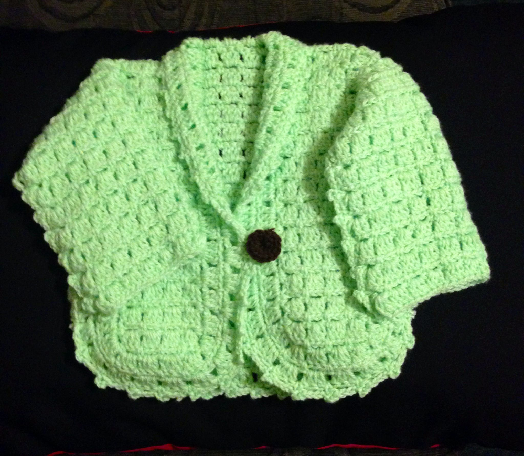 Crochet Items : Baby Crochet Sweater Crochet Small Items Pinterest