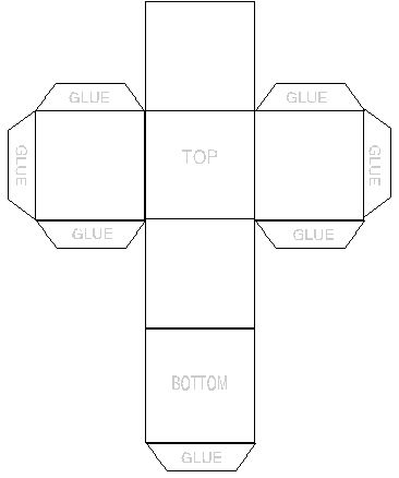 small gift box template .