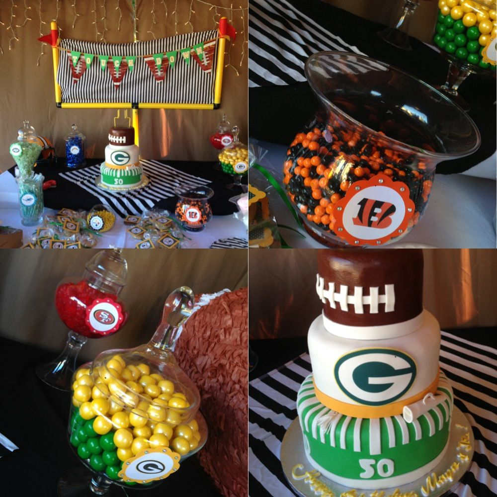 Football birthday pa