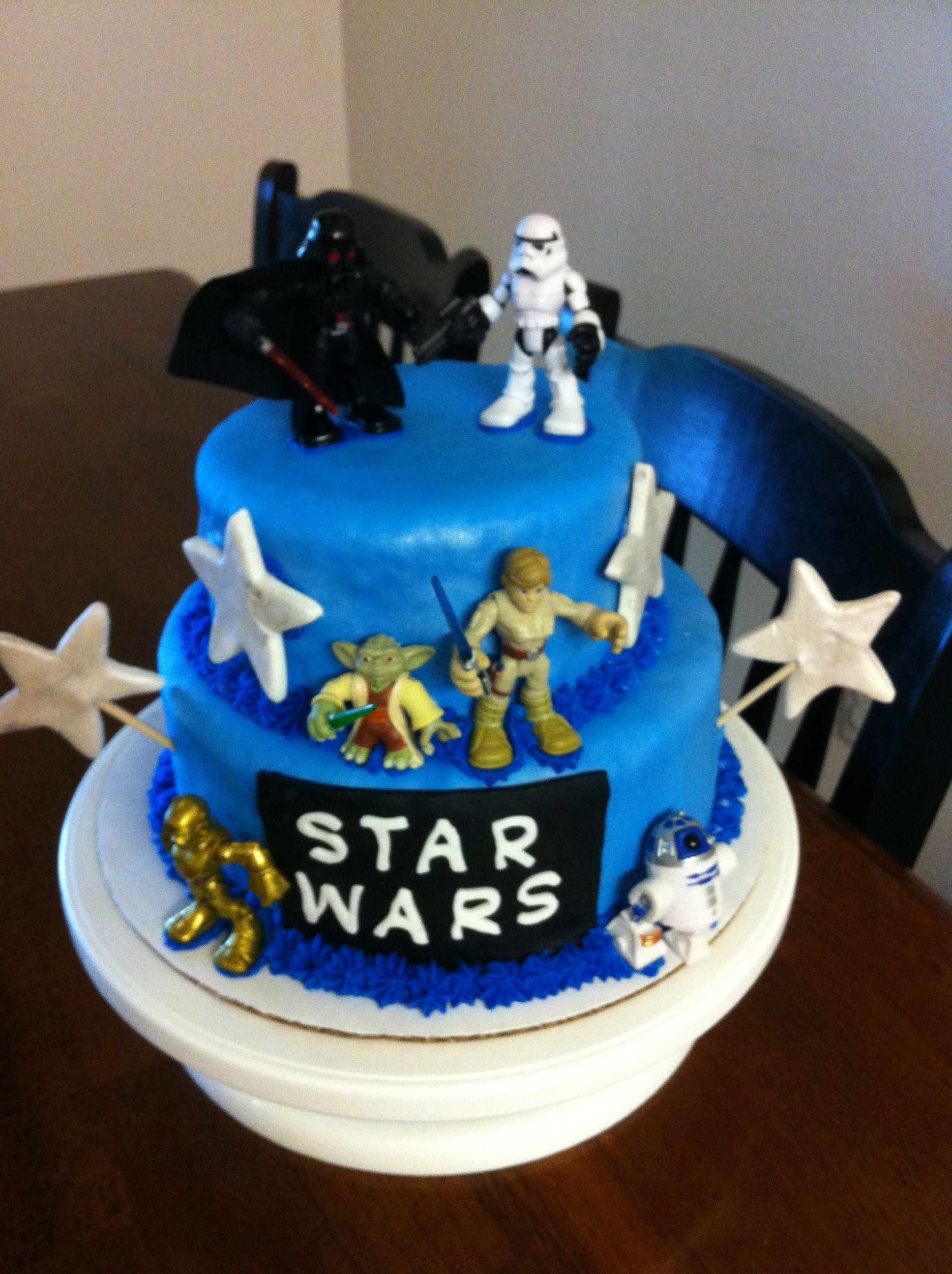 Star Wars Cake Design Pinterest : Star Wars Birthday Cakes Pinterest