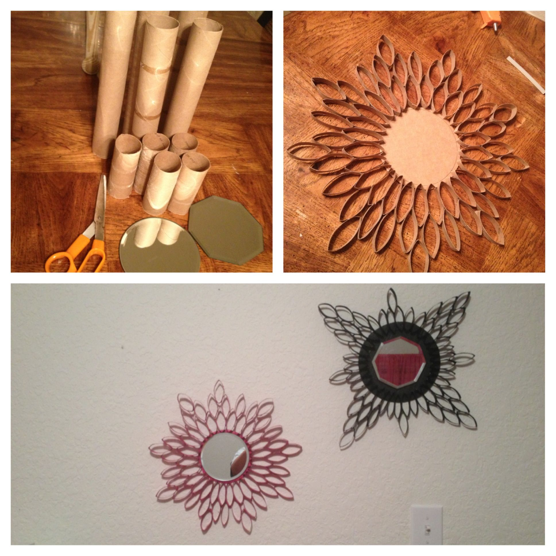 Toilet paper roll crafts art projects pinterest for Toilet paper art ideas