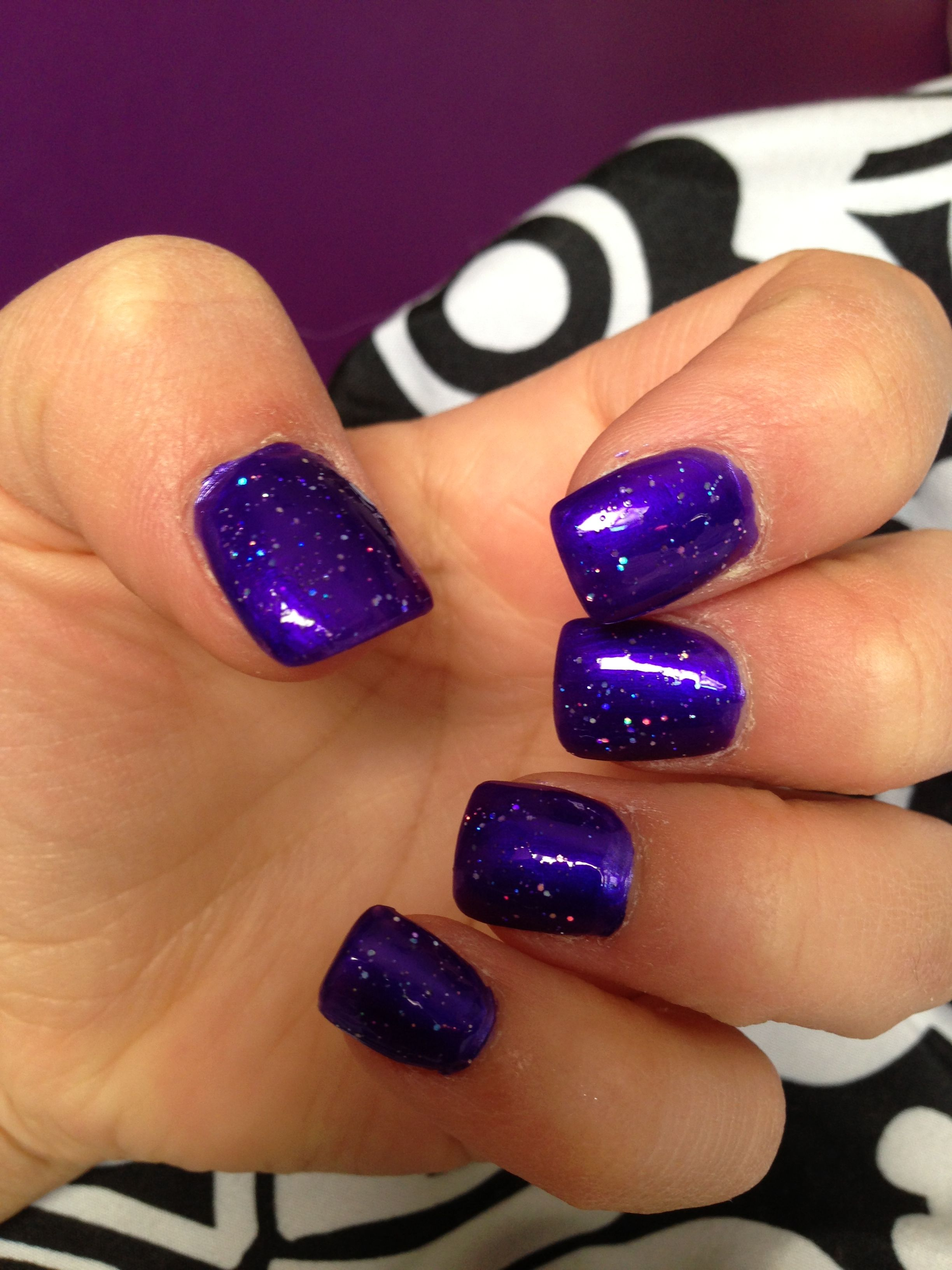 Purple Acrylic Nails Pictures to Pin on Pinterest - PinsDaddy