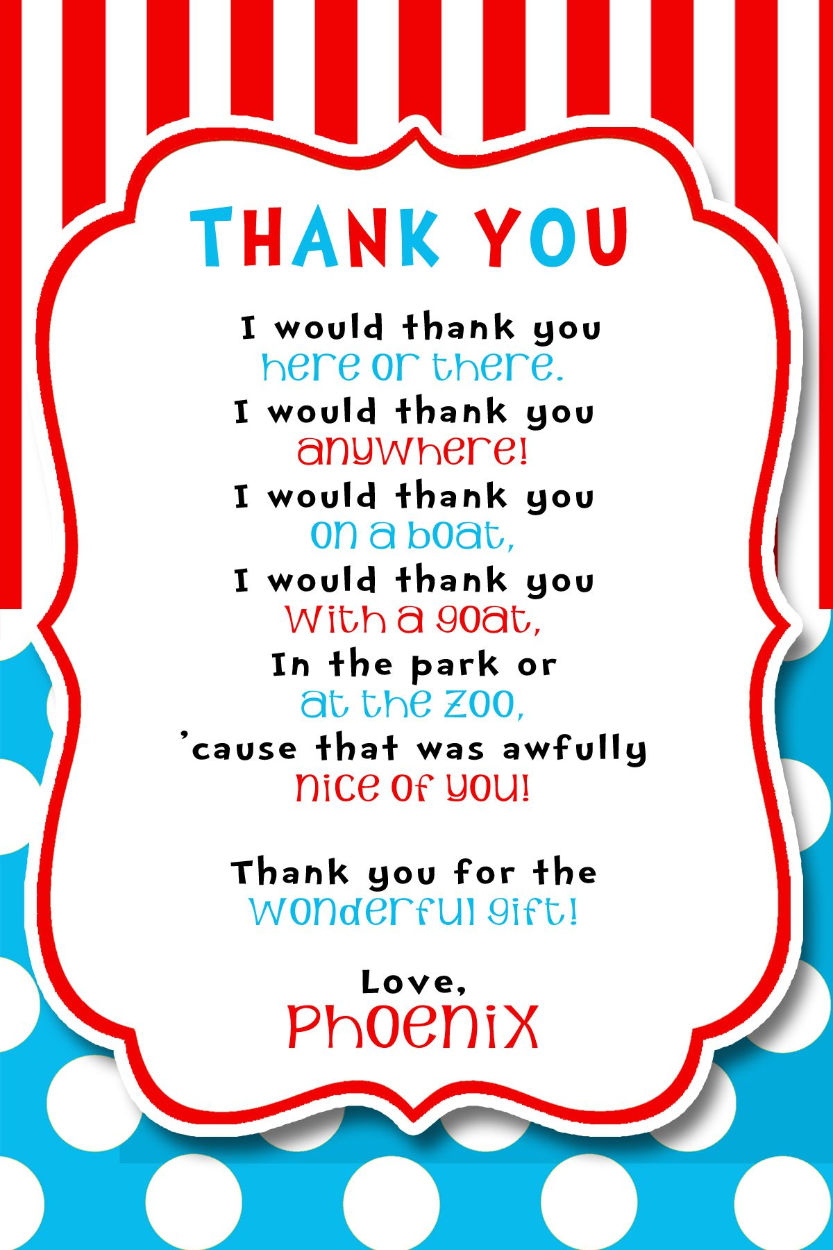 Volunteer Thank You Poem 2016