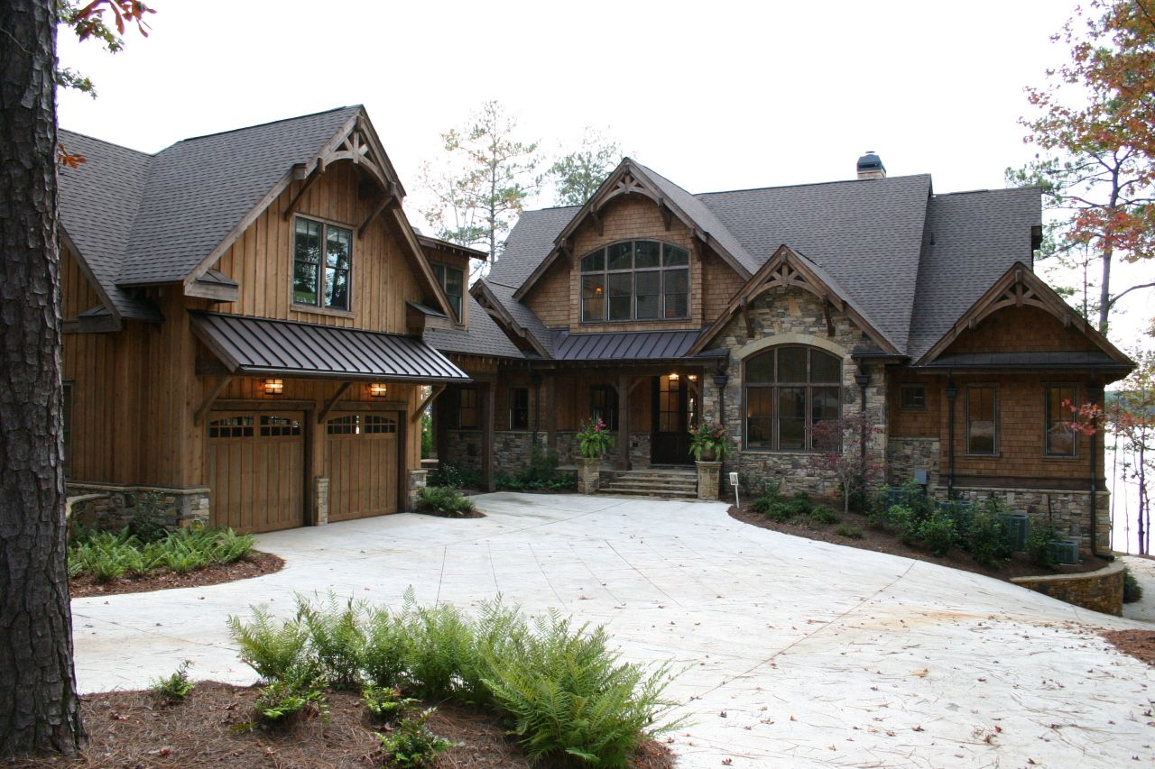 Great mountain home exteriors ideas for home pinterest for Mountain houses