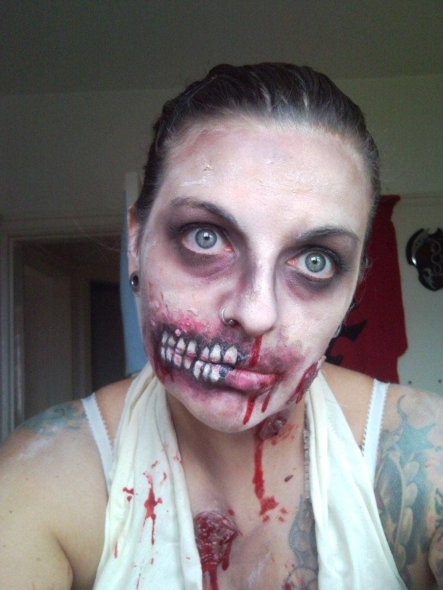 Nice zombie Halloween Makeup Pinterest - Nice Halloween Makeup