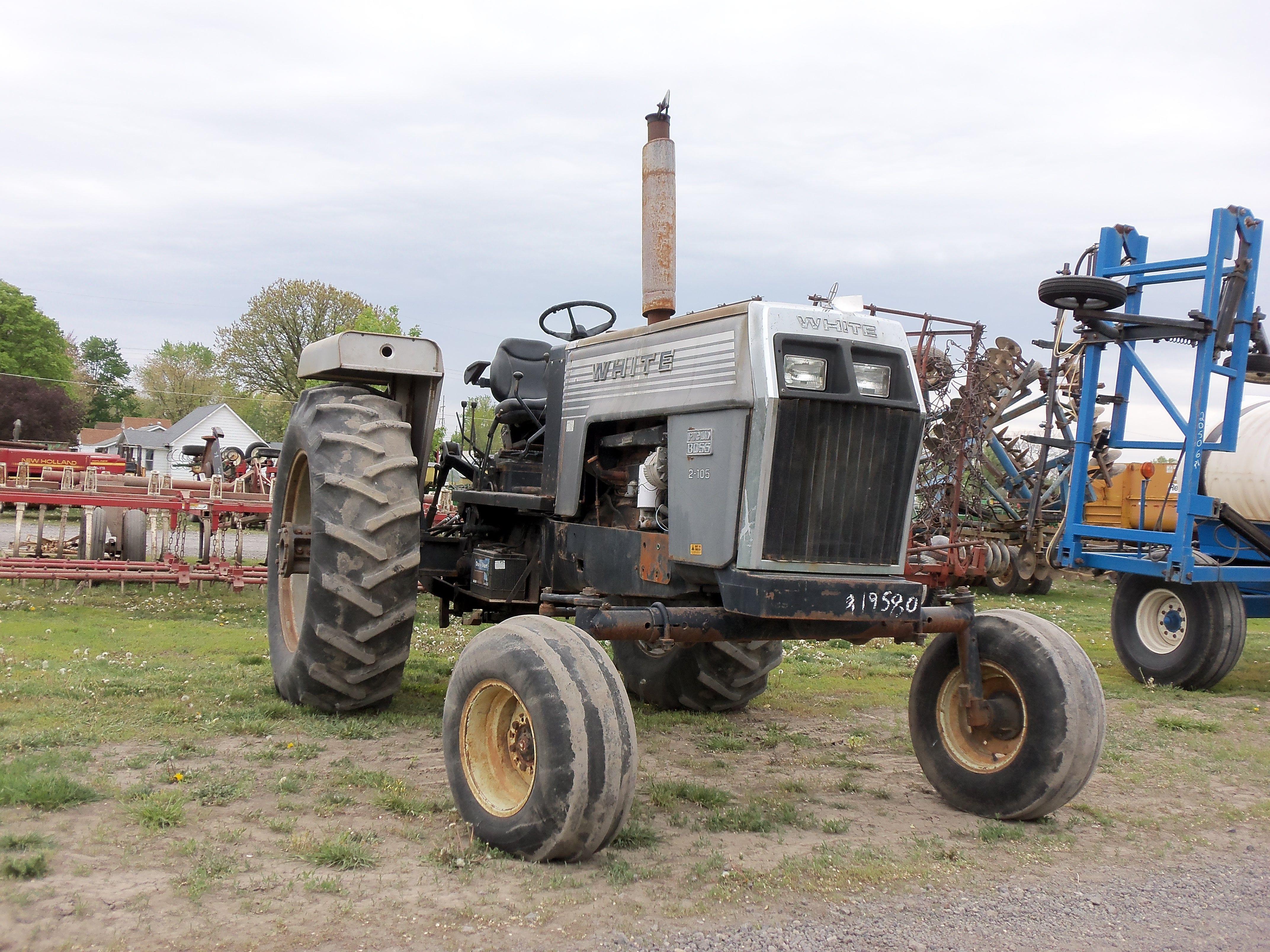 White 4 270 Tractor : White field boss farm equipment pinterest