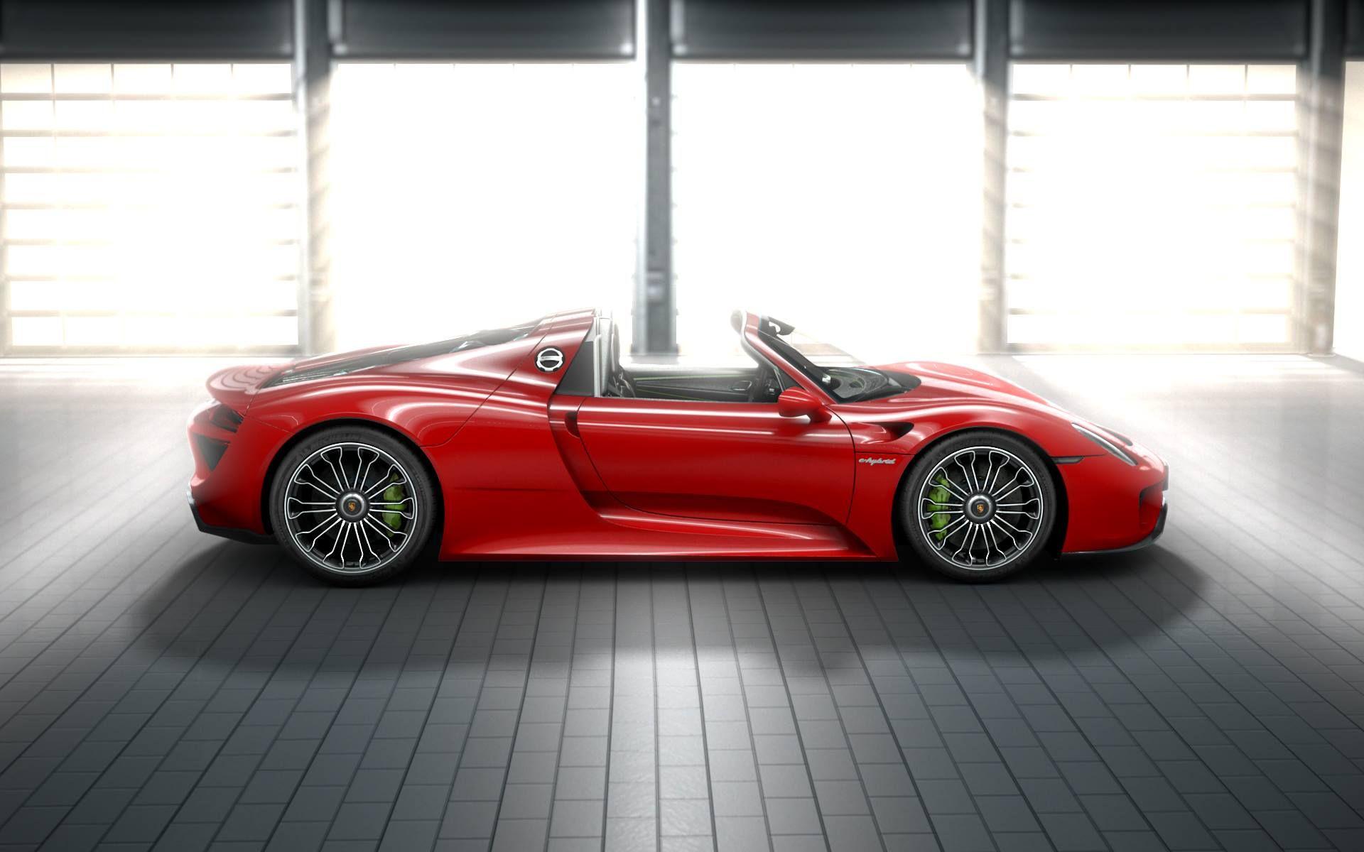 porsche 918 spyder red autos pinterest. Black Bedroom Furniture Sets. Home Design Ideas