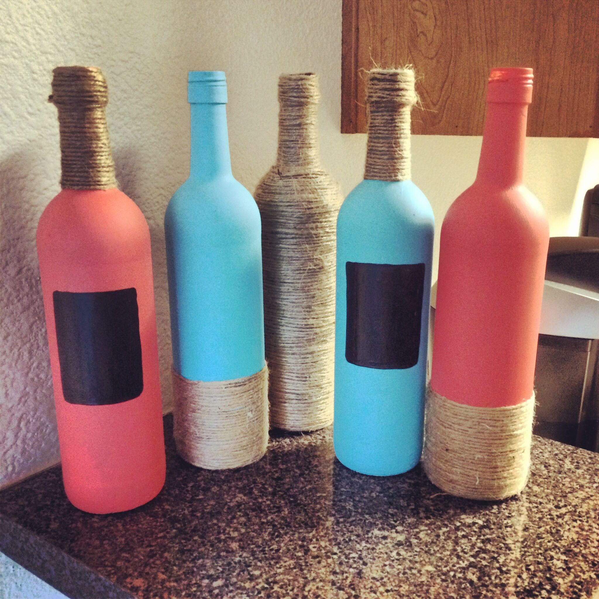 Wine bottle craft re purposeful pinterest for Bottle craft