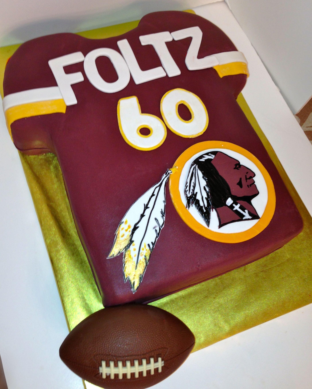 Redskins Jersey Cake