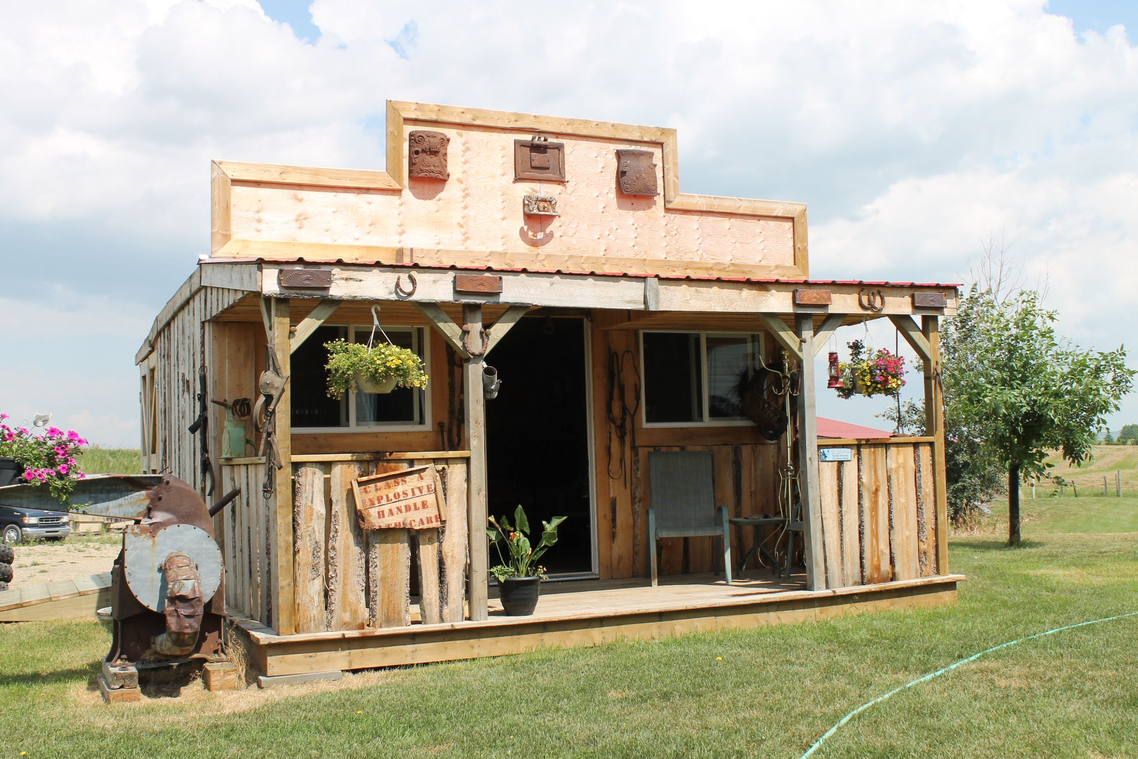 Rustic Backyard Sheds : rustic garden shed  gardens  Pinterest