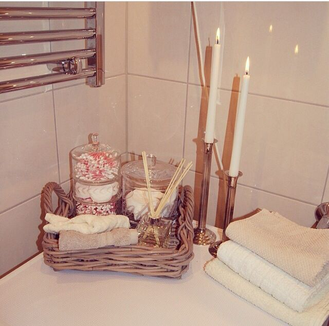 Cute guest bathroom idea  Bathroom decorating ideas  Pinterest