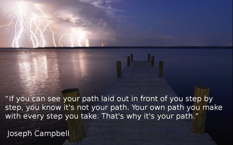 finding your own path in life Sense & spirituality: finding your path without  your independence and your desire for a new way in life  through the natural means of your own focused.