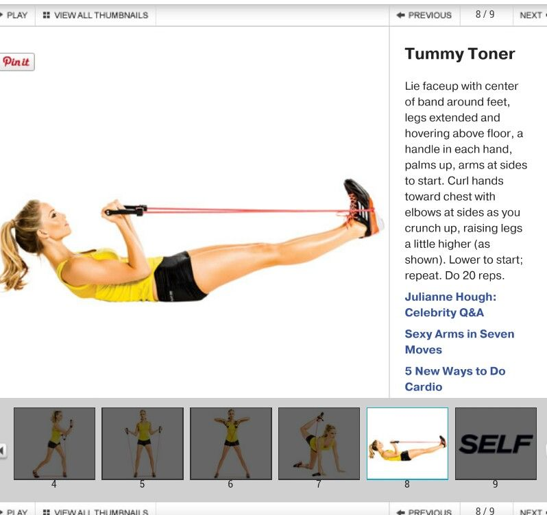 Resistance Band Core