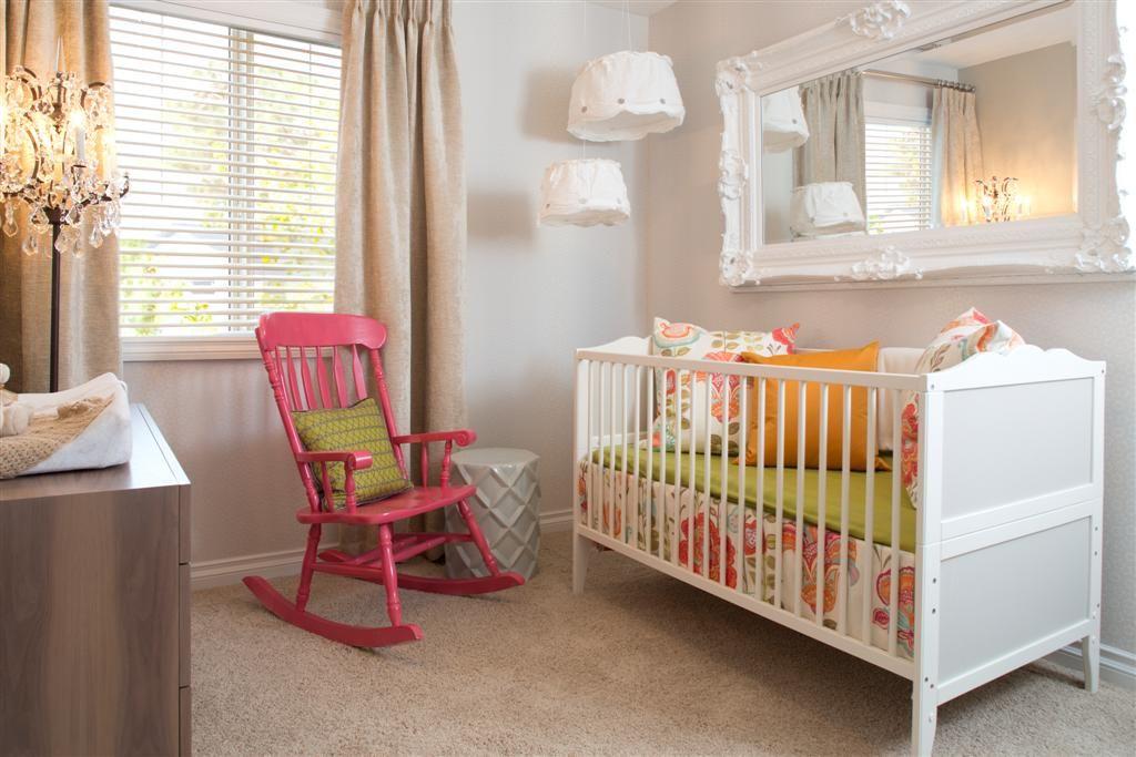 Painted rocking chair!!  Kids: Baby Nursery Ideas (Future)  Pintere ...