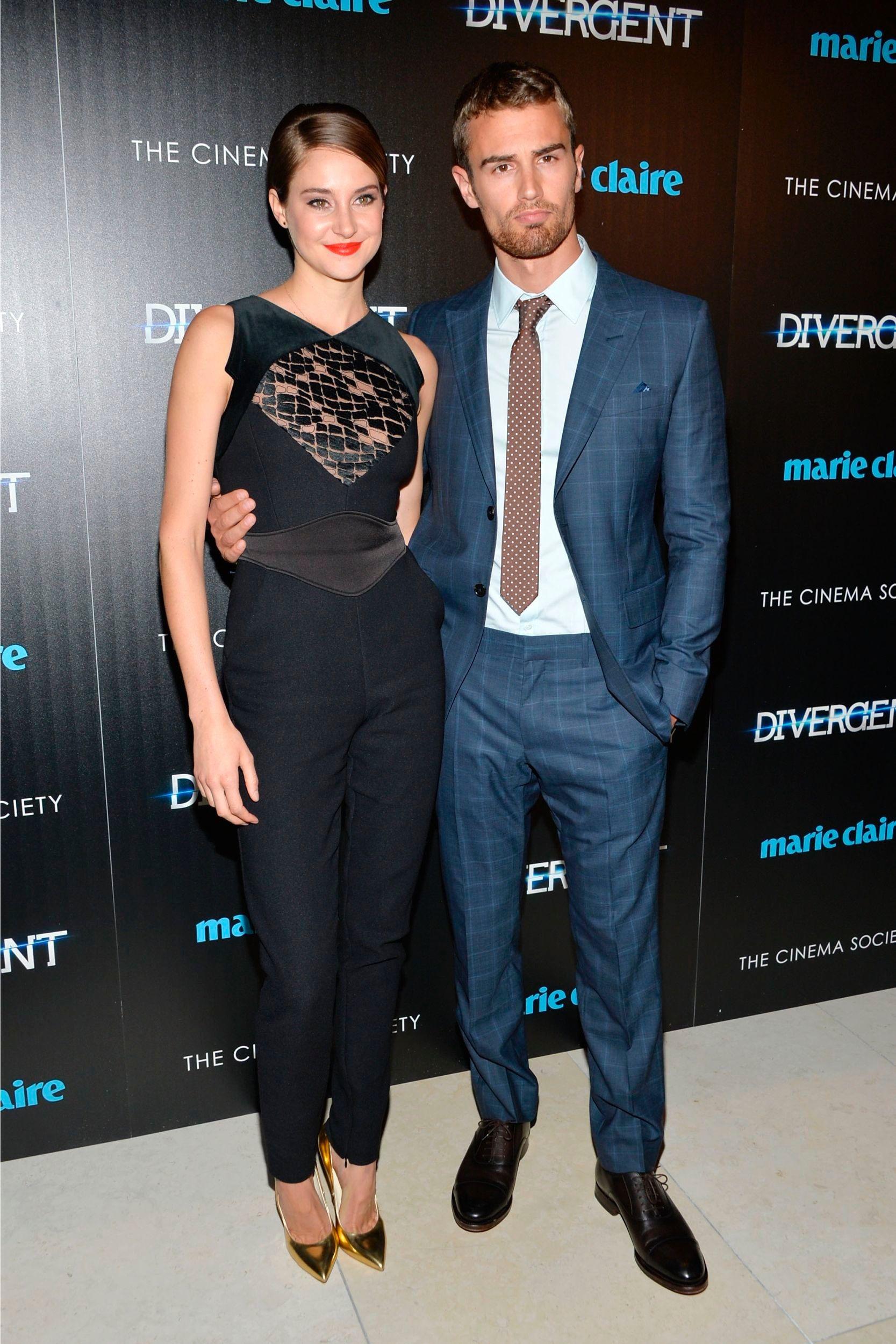 Shailene Woodley & Theo James | DIVERGENT | Pinterest