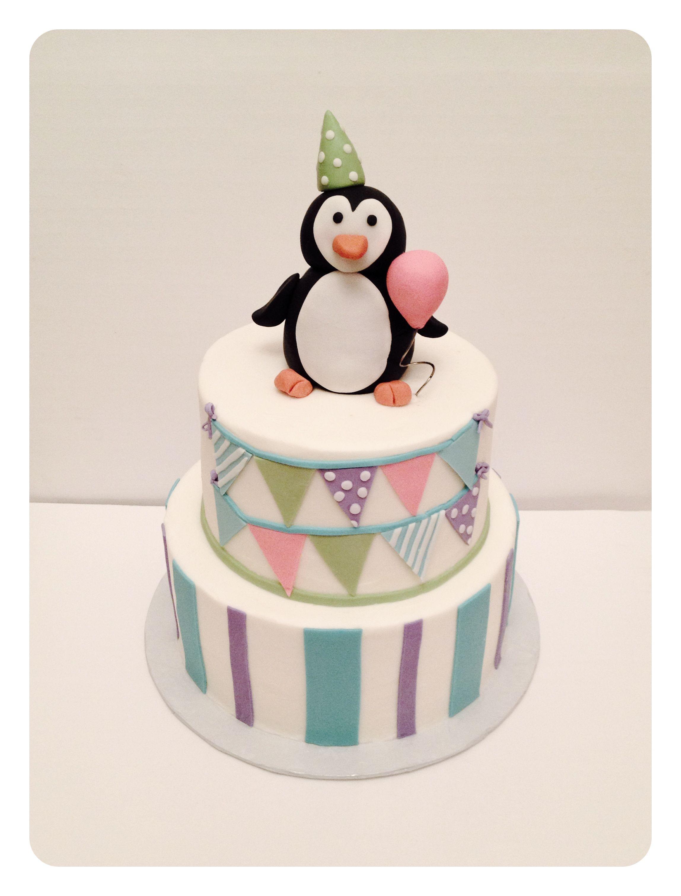Birthday Cake Ideas Penguin : Penguin birthday cake Cake designs Pinterest