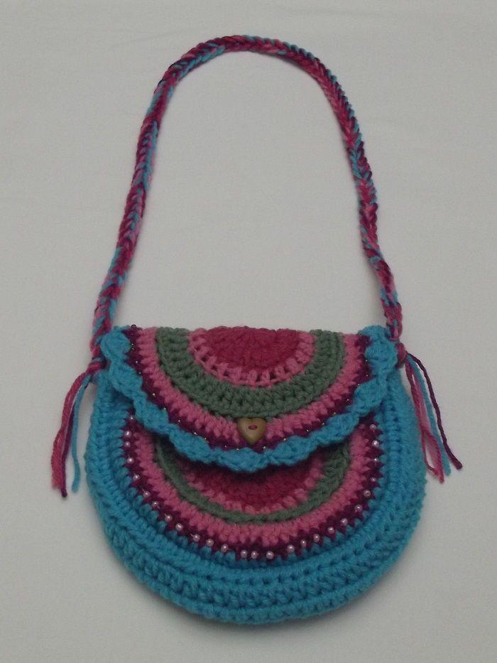 Crochet Purse For Child : Childs Purse Crochet Pinterest