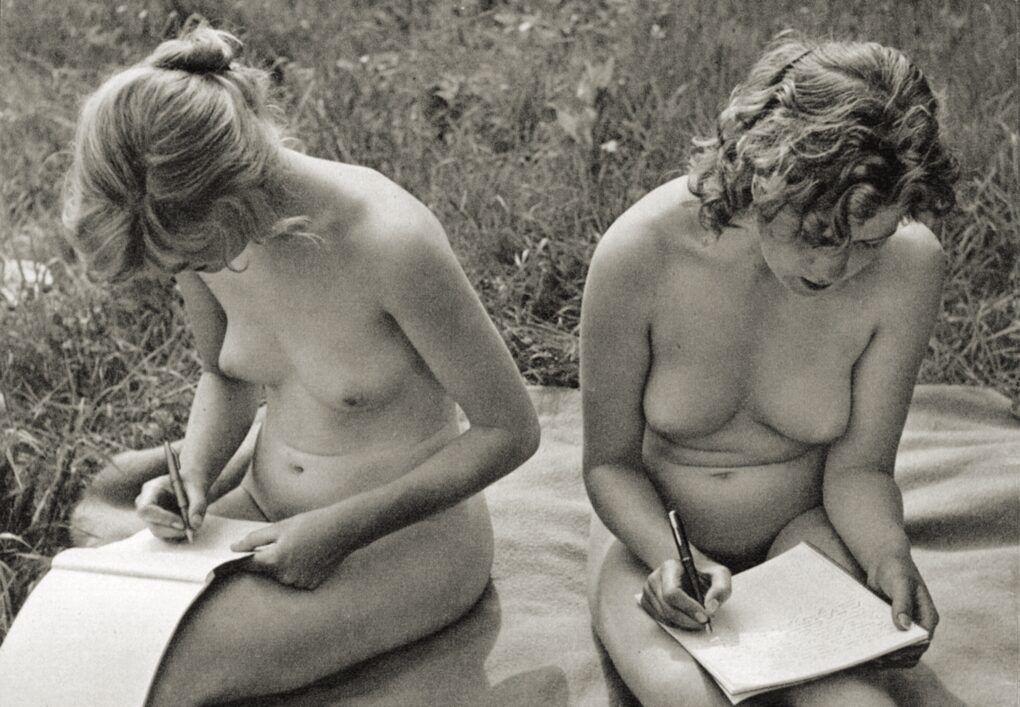 Фотографии Ретро Нудизма — Красота В Обноженности
