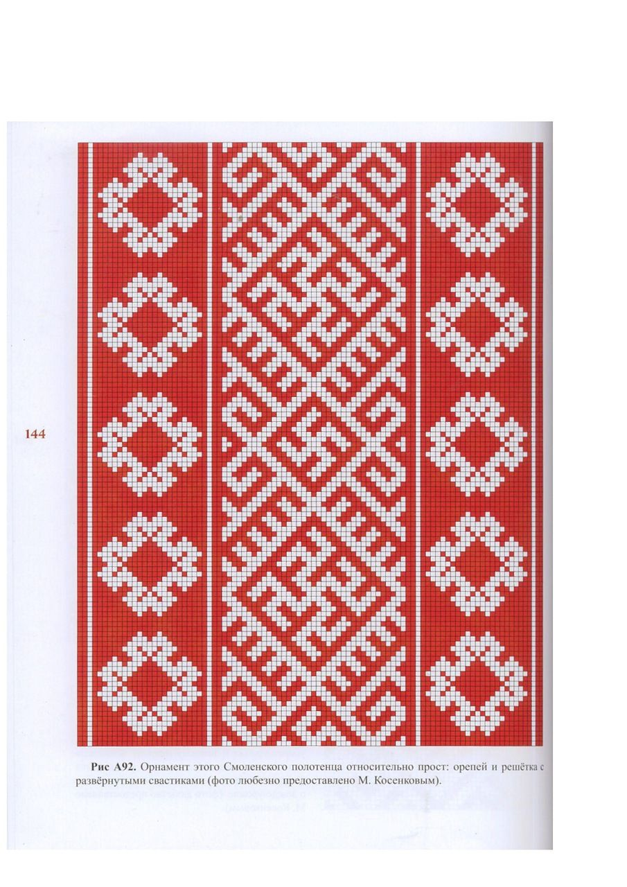 Russian Folk Pattern For Embroidery  Embroidery  Pinterest