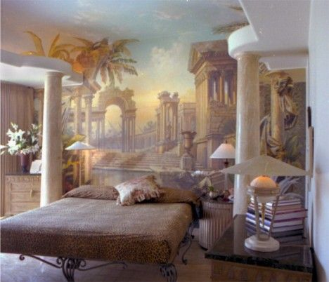 Castle wall mural home decor pinterest for Castle wall mural
