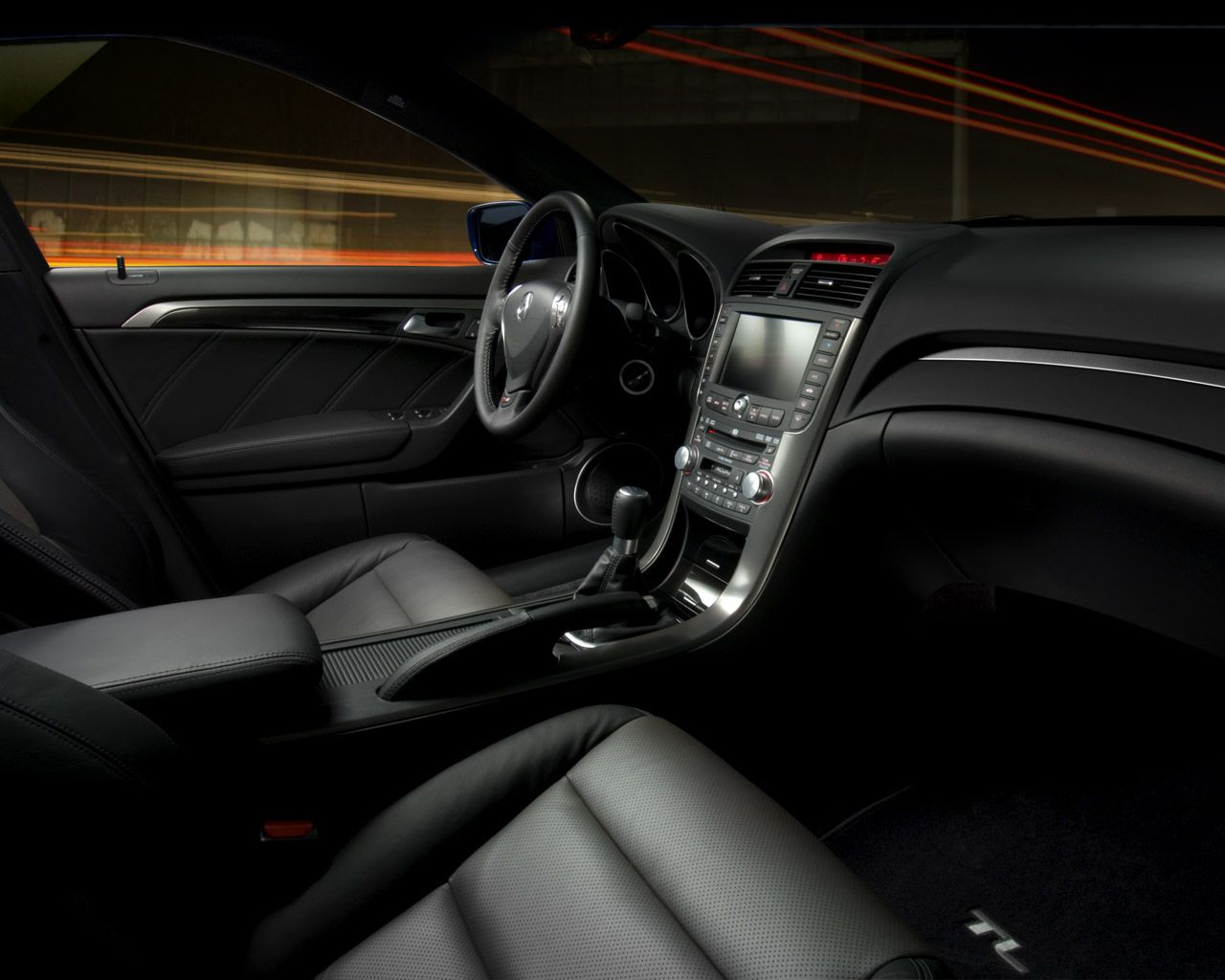 2007 Acura Tl Type S Interior And Dashboard Pinterest