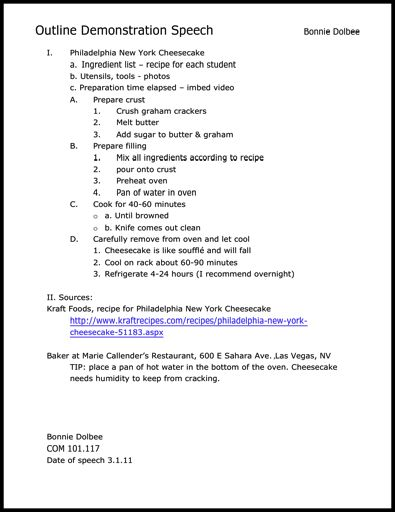 Mla Outline Template Resume Sample Pages In Mla Format Within