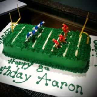 Cake Decorating Football Field : Football field cake Cake Decorating Pinterest