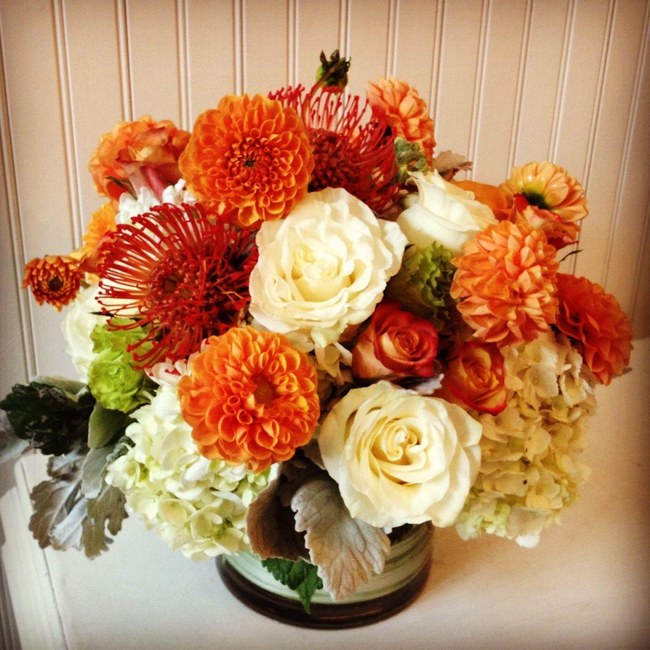 Fall flower arrangement tablescapes centerpieces Fall floral arrangements