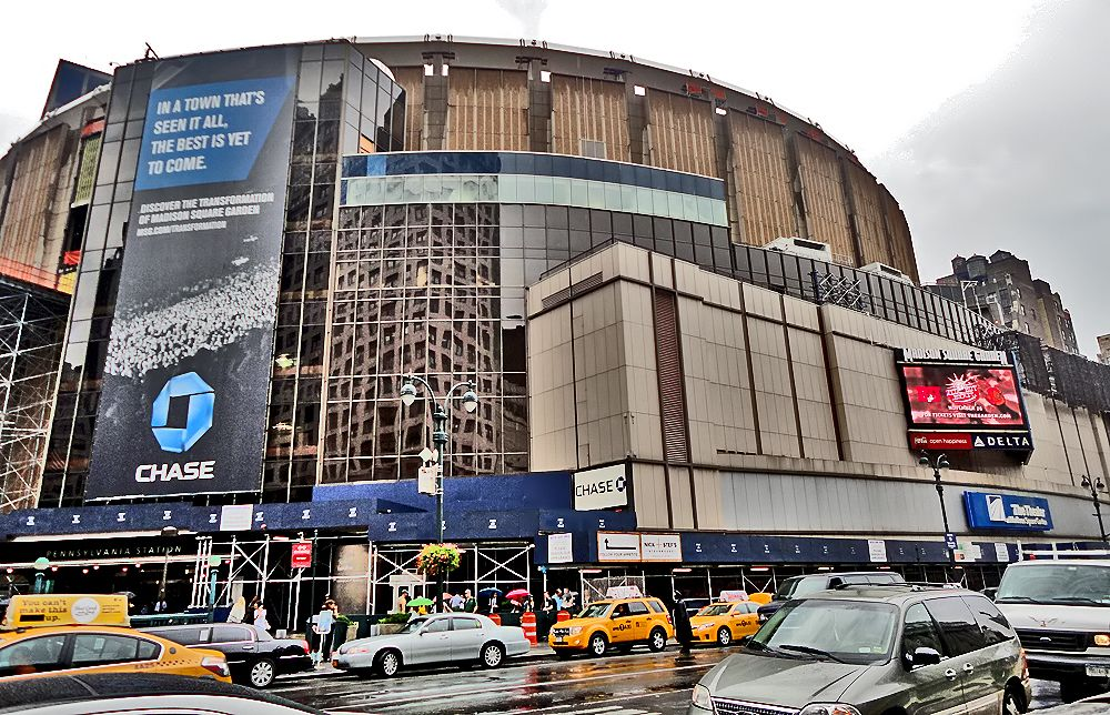 Madison Square Garden Nyc Pinterest