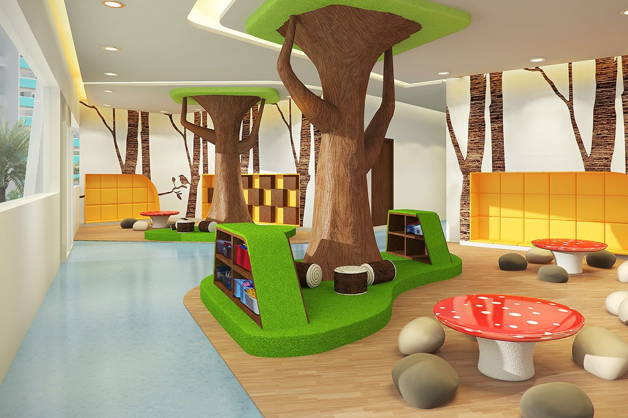 Дизайн детских площадок в дошкольных учреждениях