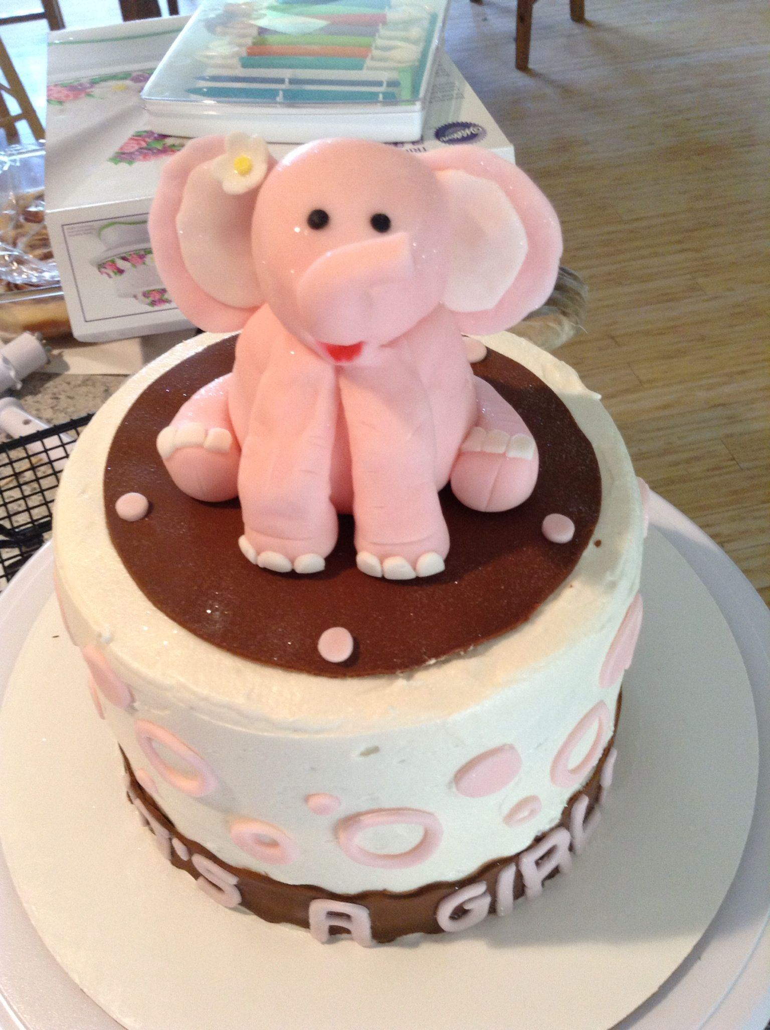 elephant baby shower cake party ideas for the future pinterest