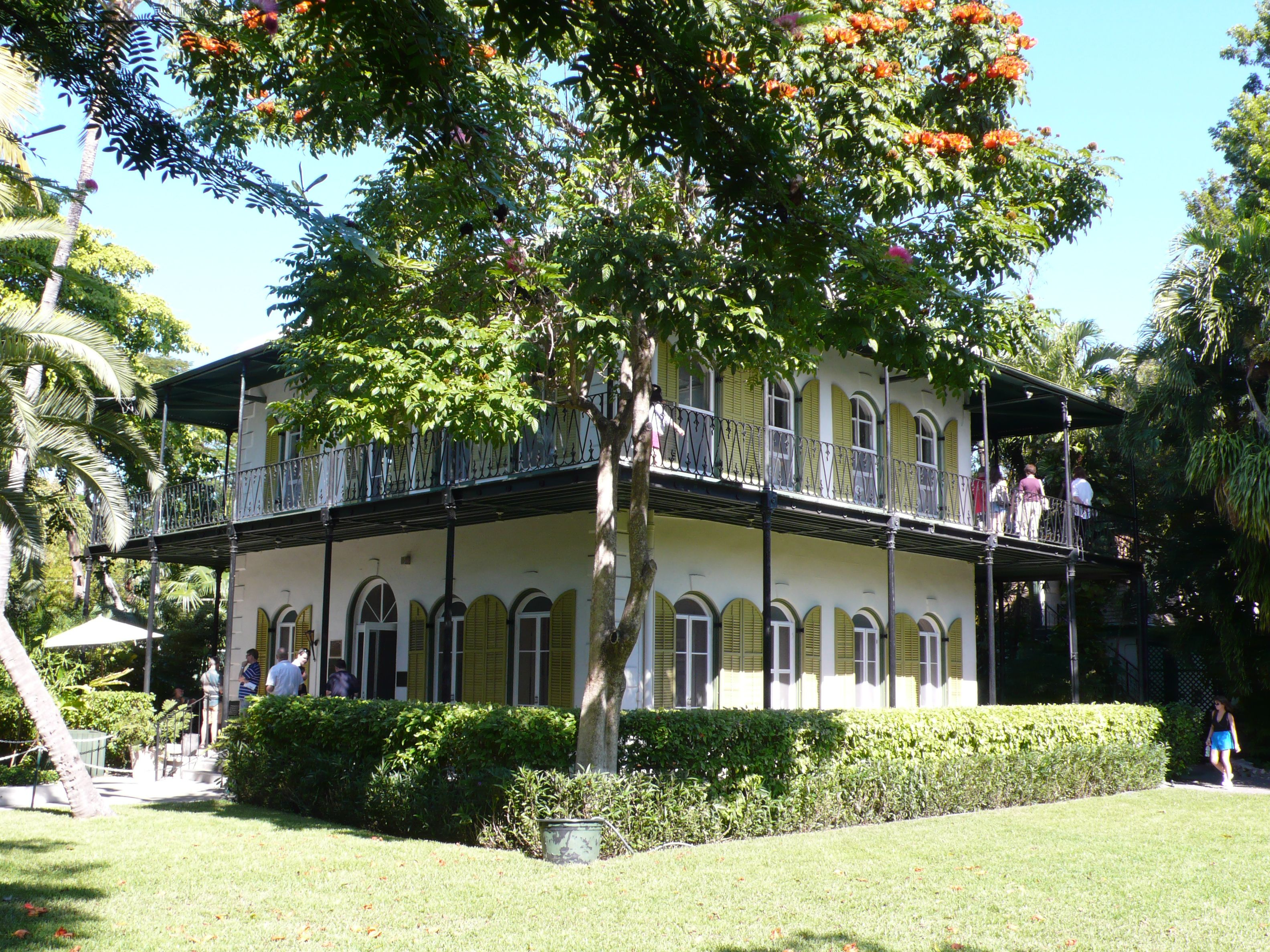 Ernest Hemingway 39 S Home Key West Fl Home Pinterest