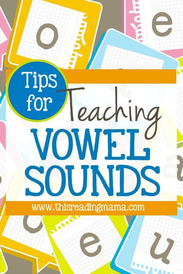 Tips For Teaching Vowel Sounds Phonics And