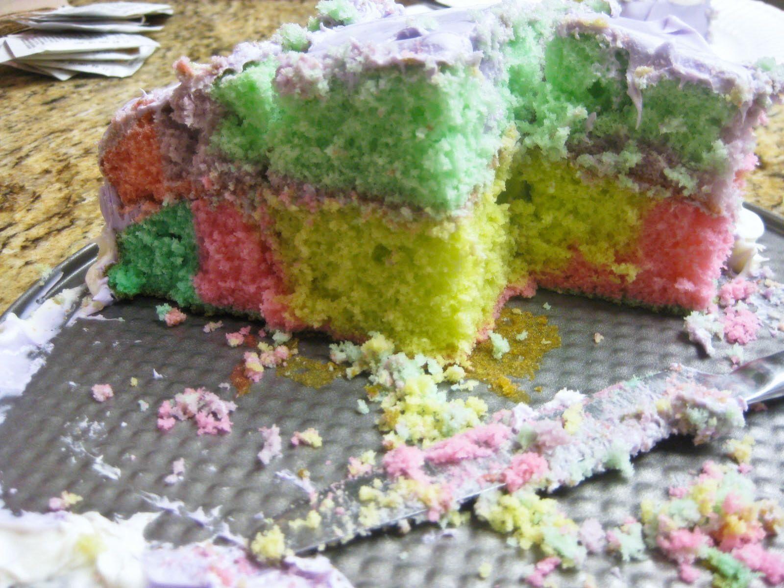 Mini Birthday Layer Cake On A Panini Press Recipes — Dishmaps