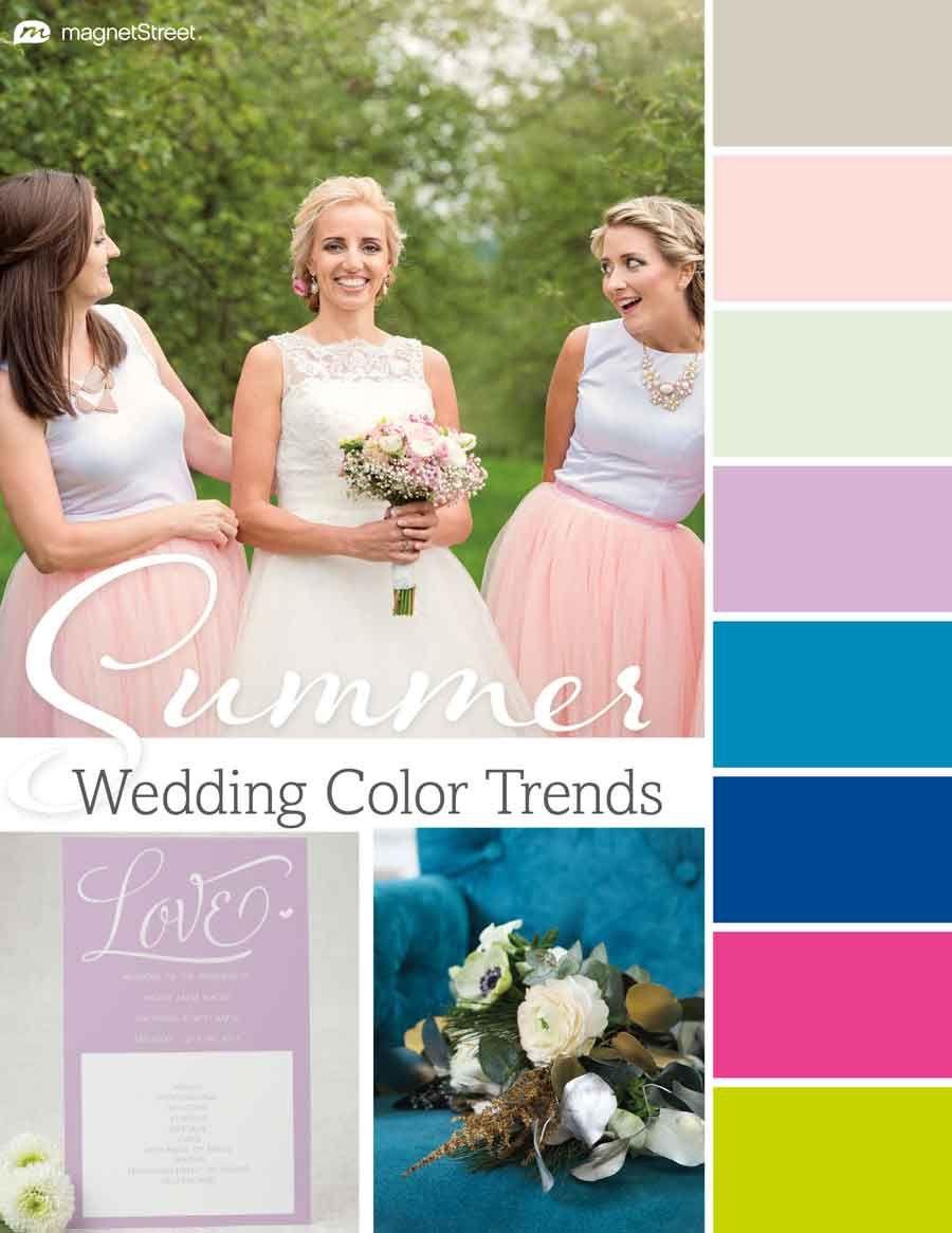 Summer Colors For Wedding 2018 | Yoktravels.com