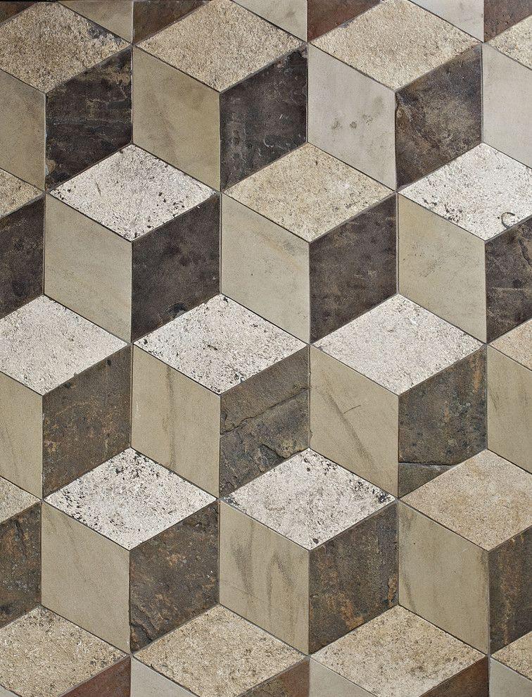Victorian floor tiles reclaimed