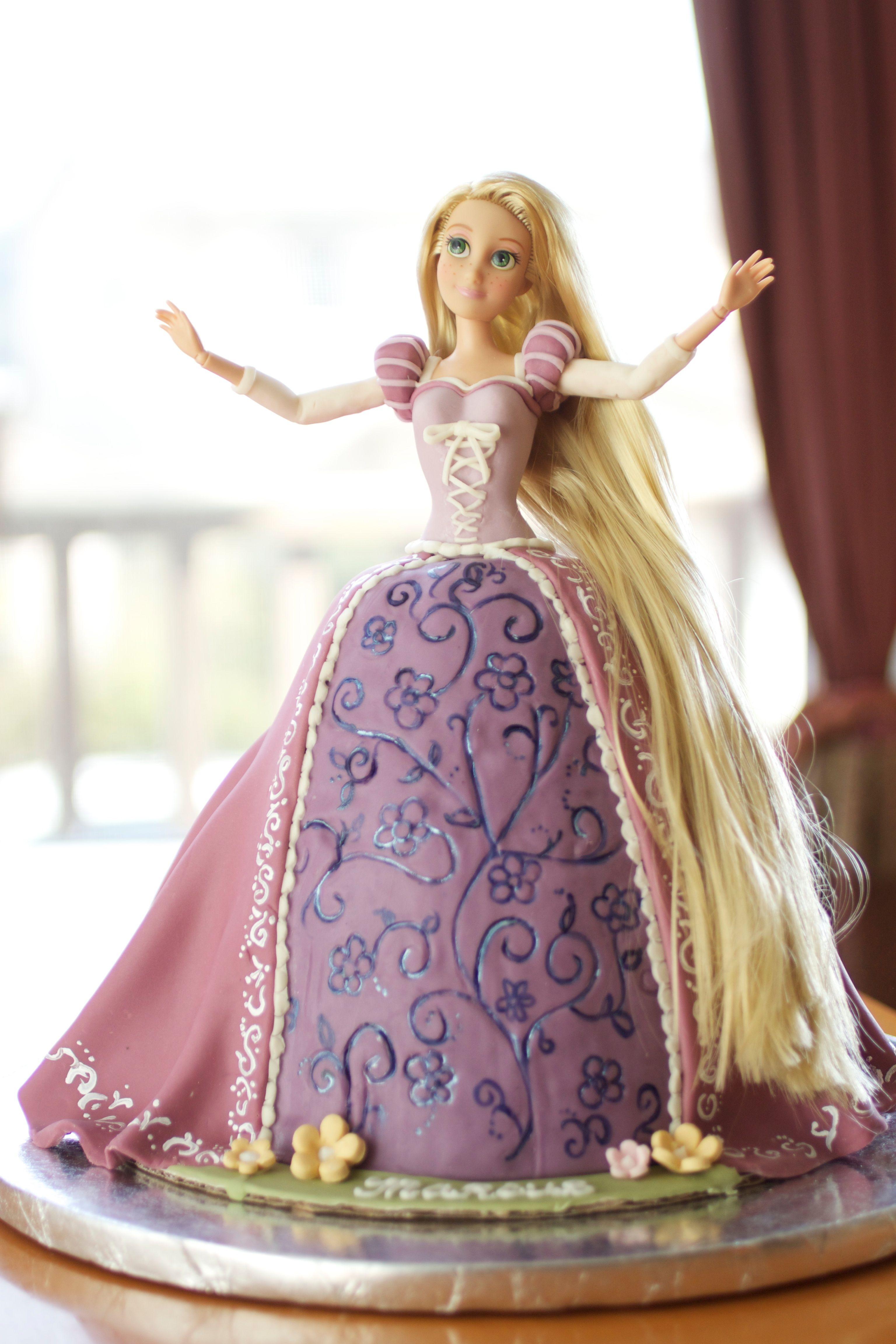 Rapunzel Doll Cake Ideas