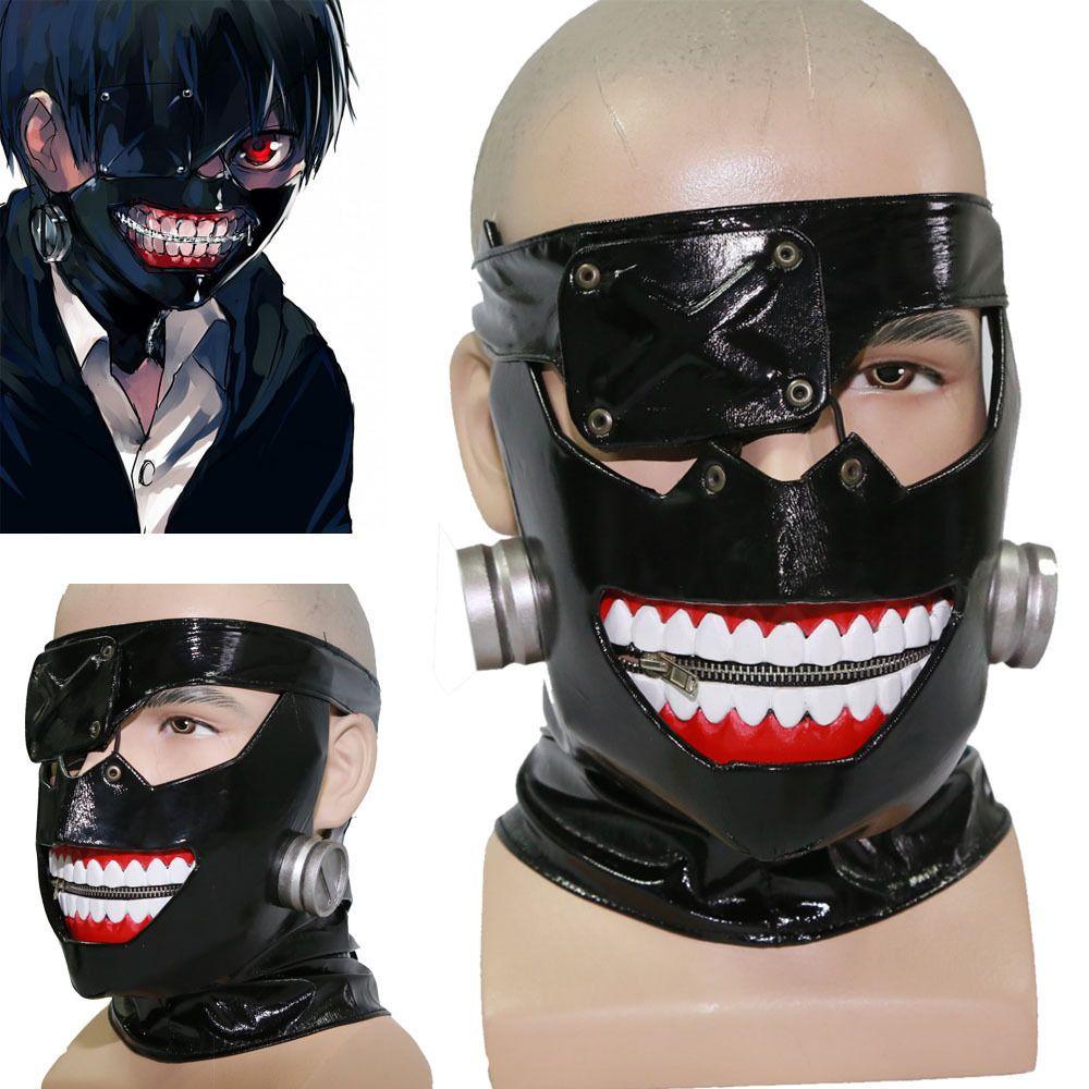 Ответы Как сделать маску Канеки из токийского гуля?