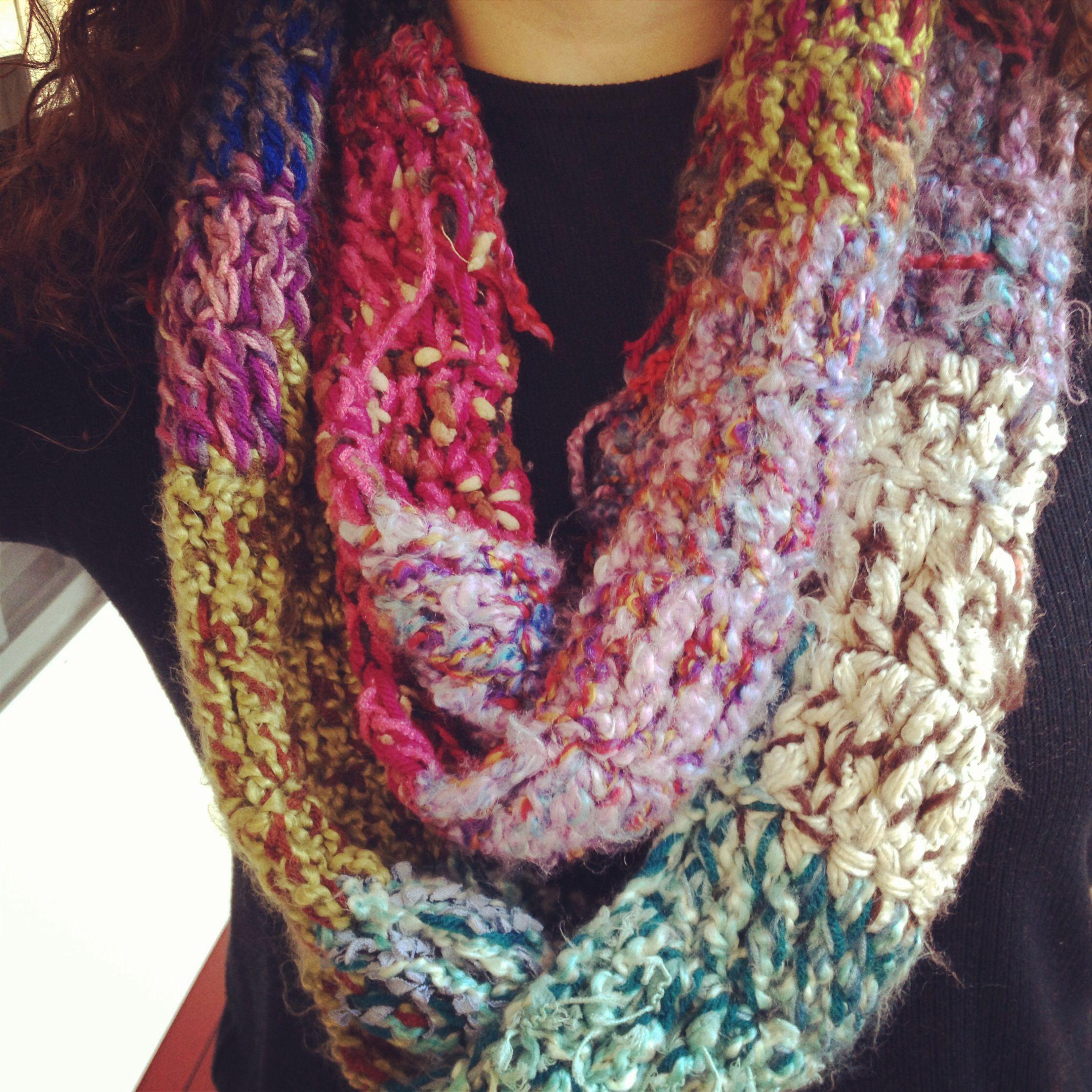 Crocheting Infinity Scarf : Crochet infinity scarf. Crochet Pinterest