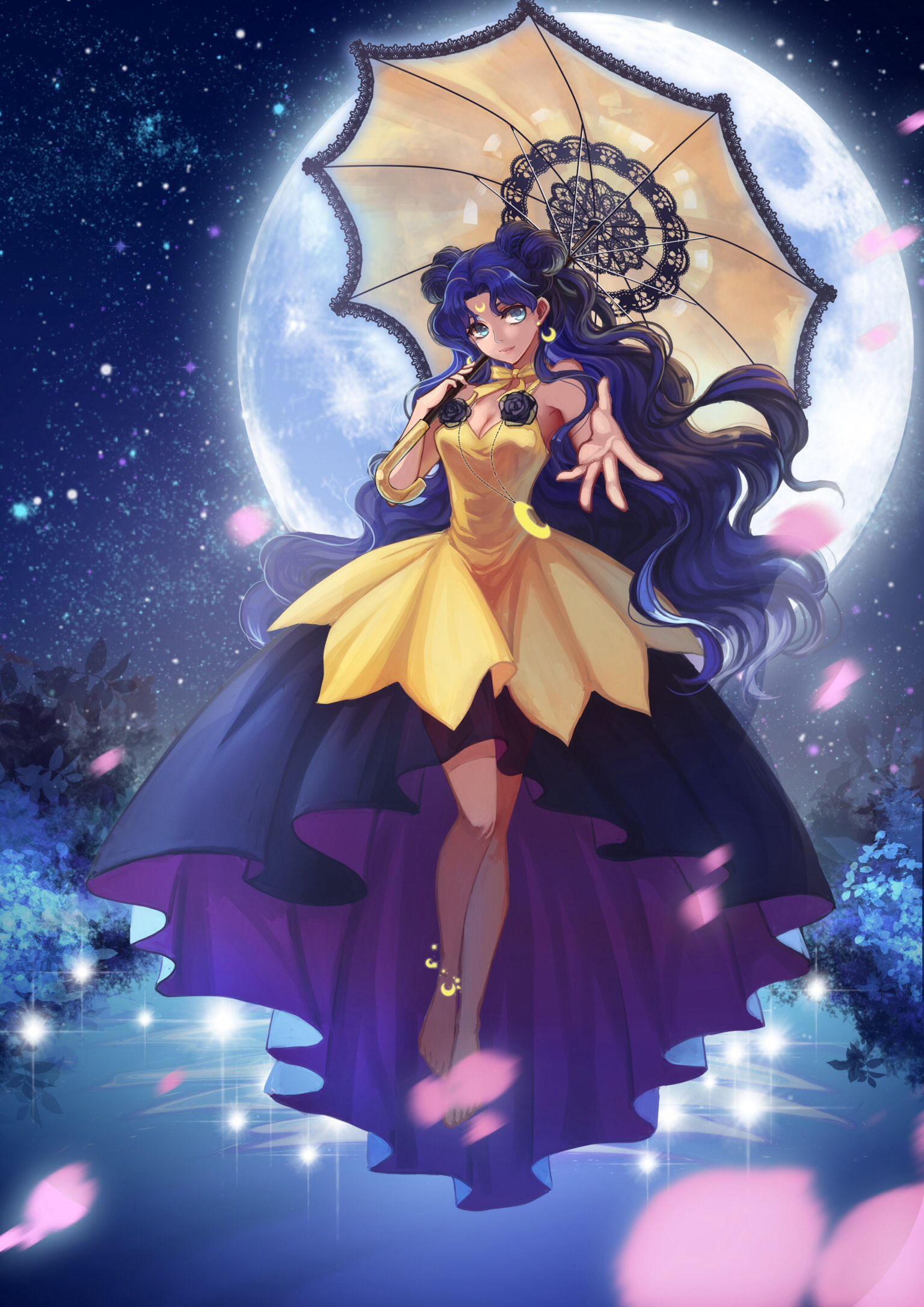 Human luna bishoujo senshi sailor moon pinterest - Princess luna screensaver ...