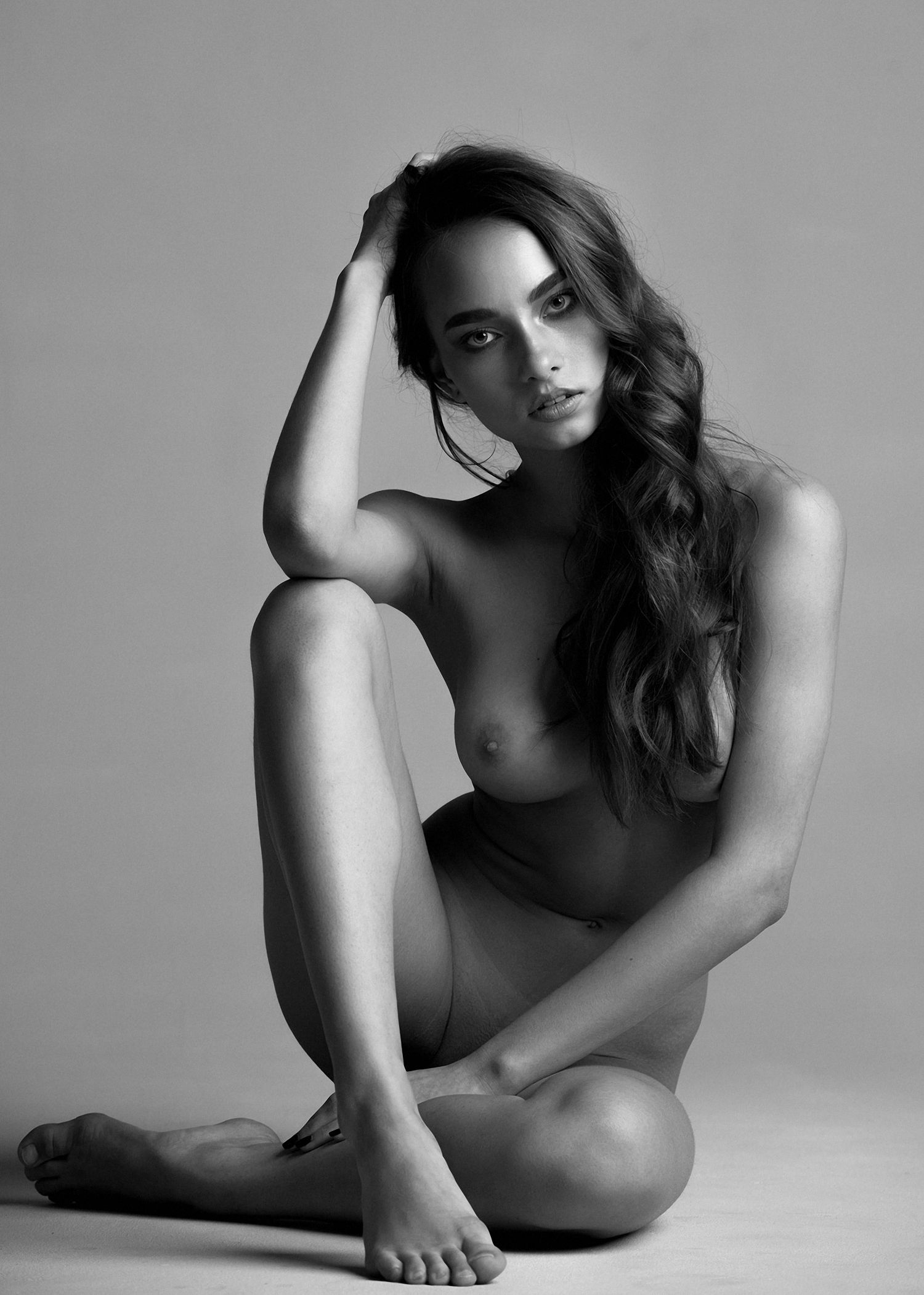 Katya Aivazova by Mikhail Malyugin – Portraits Of Girls ...