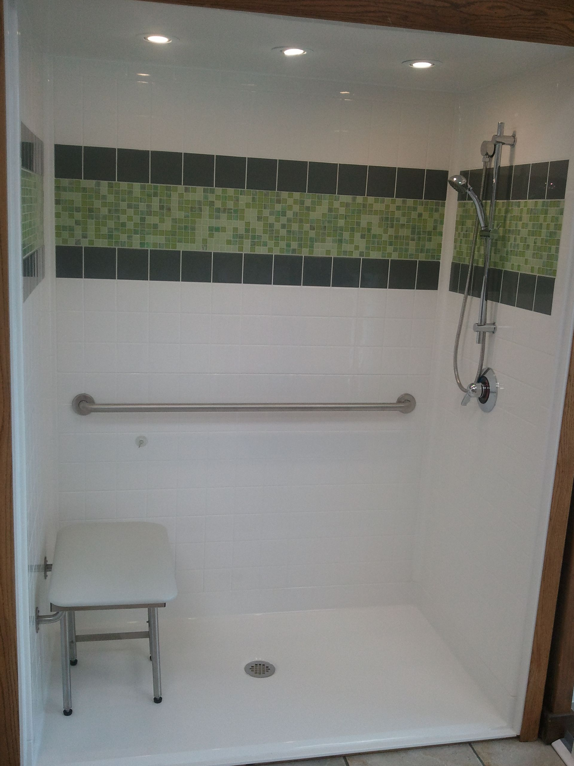 Best-Bath Low-Threshold Shower unit. | Aging-in Place | Pinterest