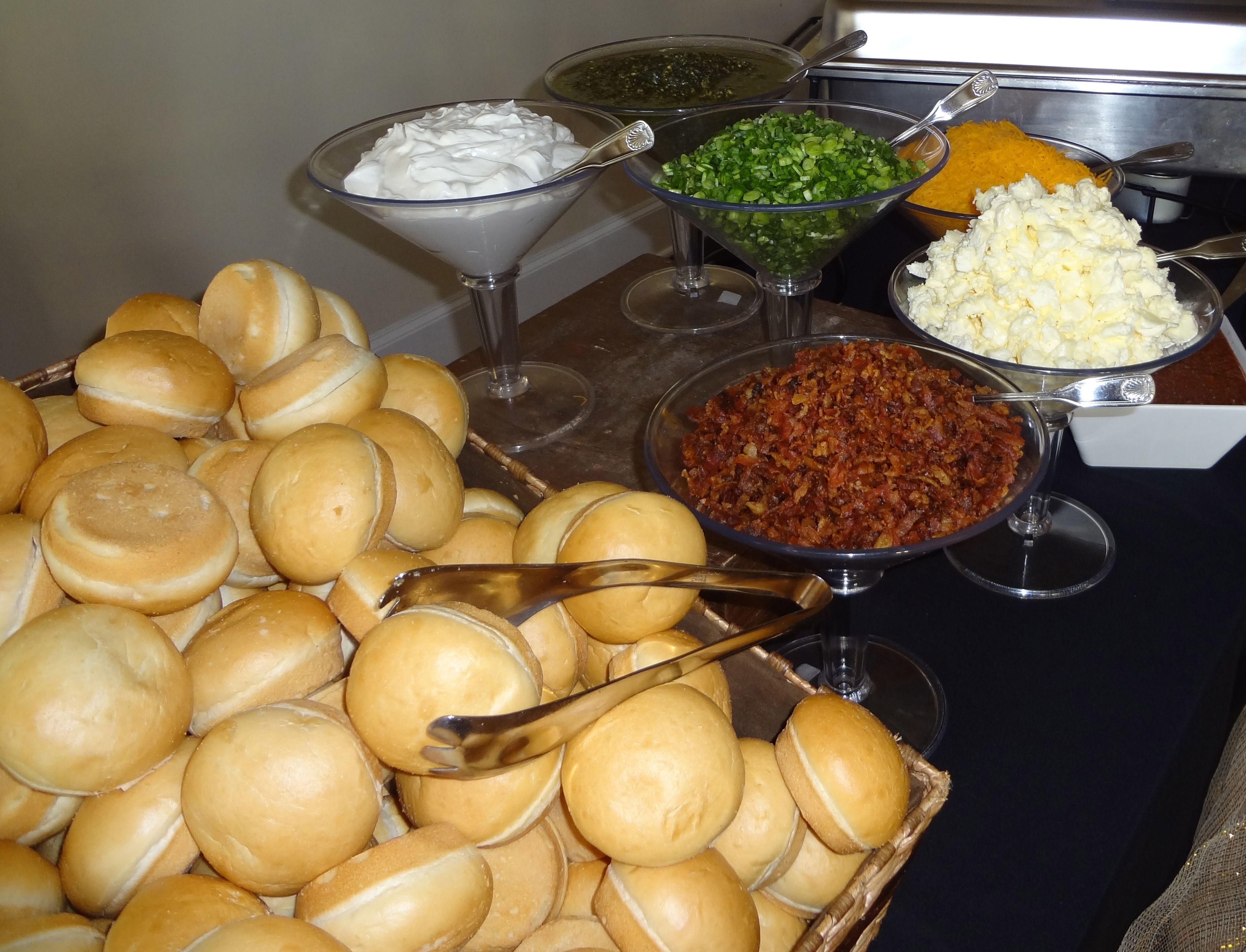 Baked Potato Bar | 360 Catering and Events | Pinterest