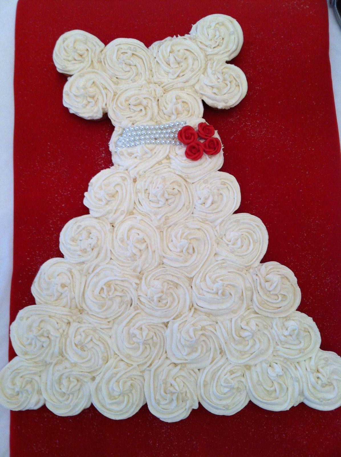 Wedding dress cupcakes Cakes & baking