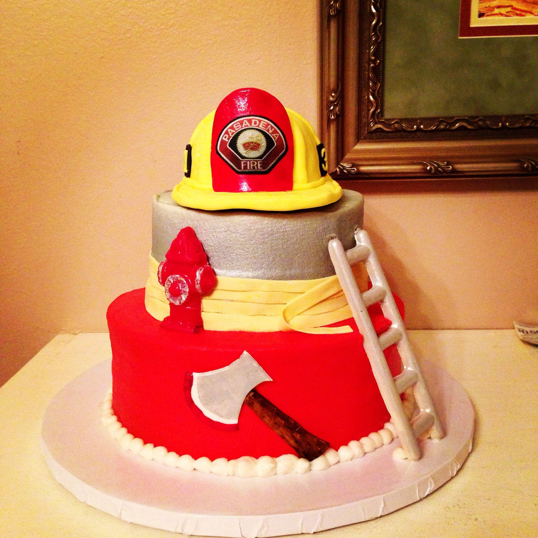 Kids firefighter cake ideas 37864 fireman birthday cake de for Dessert cake ideas