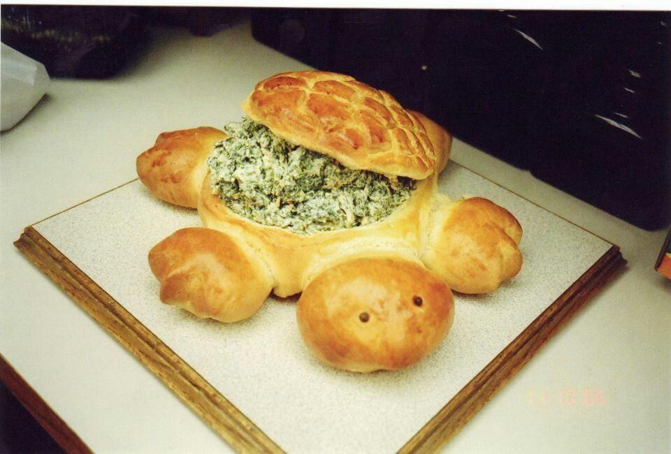 Turtle bread | yum | Pinterest