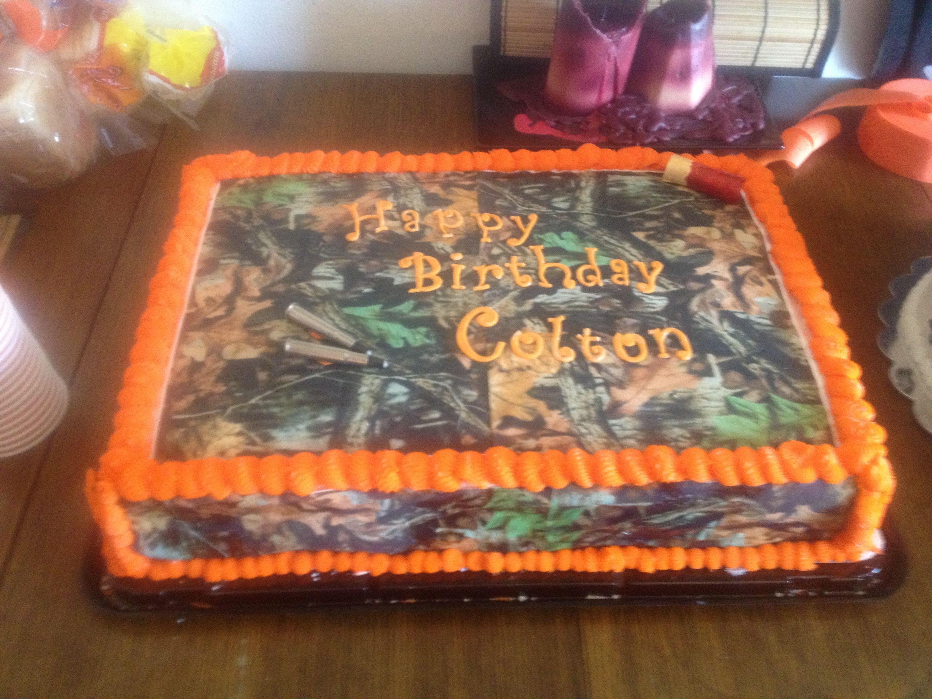 Camouflage Sheet Cake Cakes