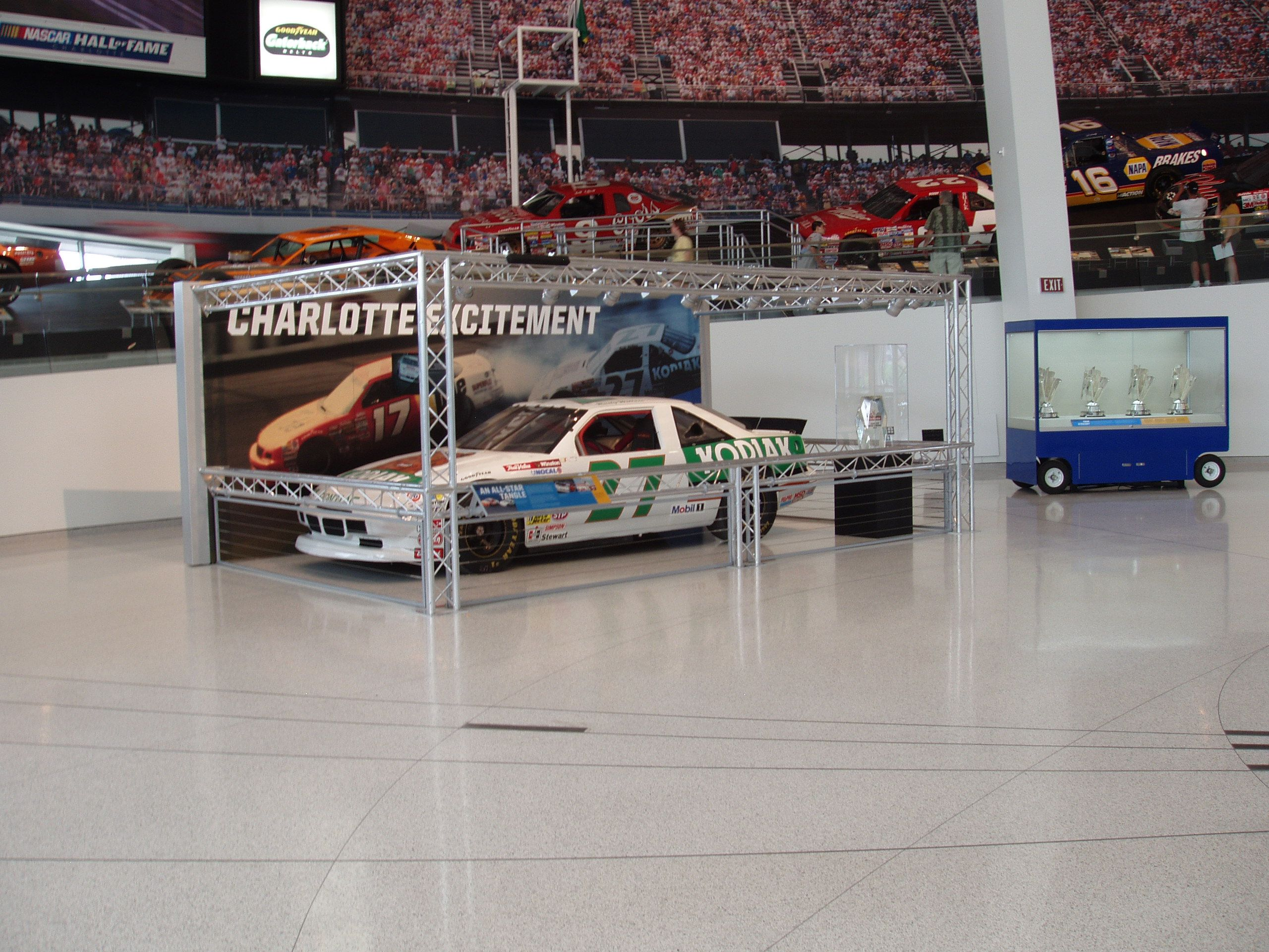 nascar hall of fame american pickers