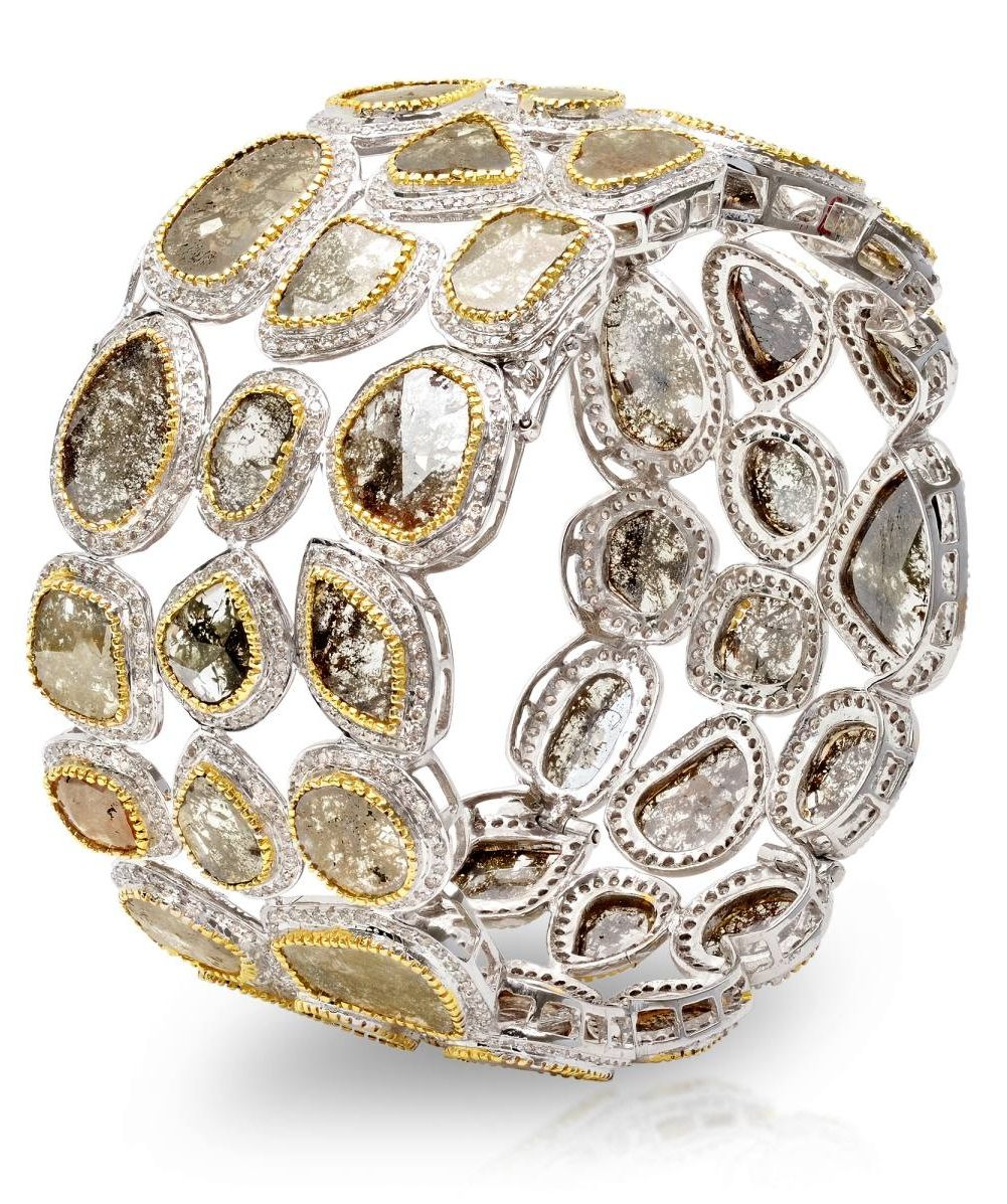 Bavna Diamond Bracelet from the Rustico Collection